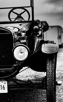 Ford Model T, Ford, Model T, Vehicle, Car, Old, Vintage