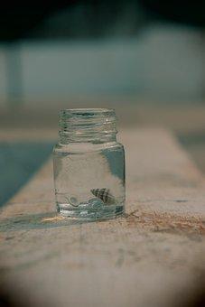Glass, Bottle, Medicine, Container, Liquid