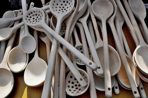 Cutlery, Kitchen Equipment, Handicraft, Spoon