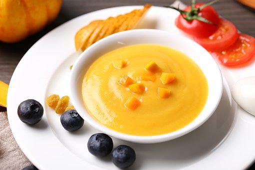 Soup, Food, Bowl, Plate, Meals, Cream, Health
