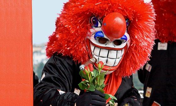 Basler Fasnacht, Carnival, Larva, Mask, Drums, Basel