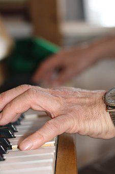 Hand, Instrument, People, Man, Adult, Piano, Skill