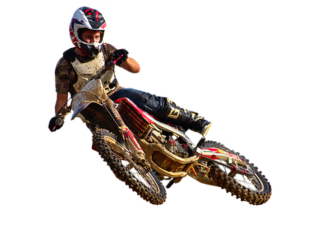 Motocross, Whip, Dirtbike, Rider, Motorcycle, Honda