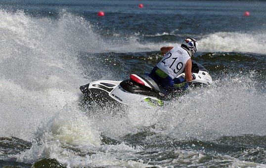 Jet Boat, Water Sports, Racing, Regatta, Water