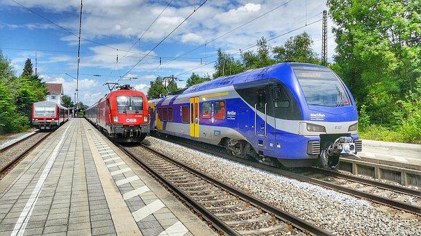 Transport System, Train, Railway, Railway Line, Traffic