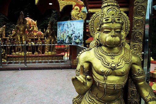 Hanuman, Indian, Faith, Temple, Religion, The Statue