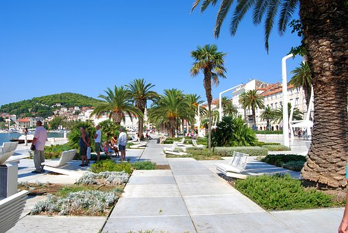 Hotel, Wood, Resort, Summer, Split, Dalmacija