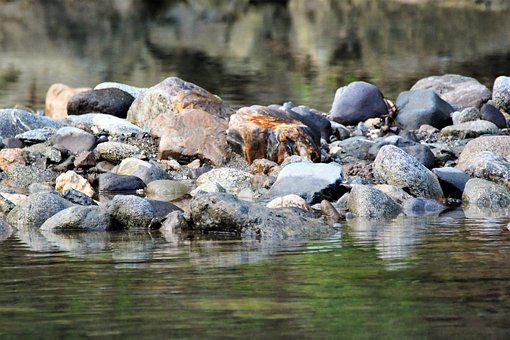 Water, Nature, River, Rock, Outdoors, Stone