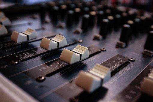 Technology, Computer, Sound, Equipment, Music, Mixer