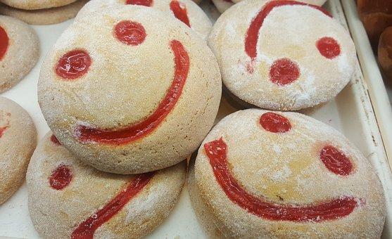 Smile, Happy, Sweet, Food, Sugar, Cake, Delicious