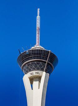 Architecture, Sky, Tower, Outdoors, Tallest, Las Vegas