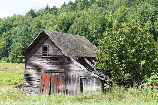 Wood, Barn, Rustic, Wooden, Farm, Shed