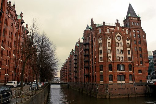 Architecture, Channel, City, Brick, Travel