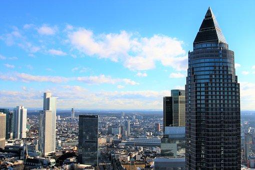 Skyscraper, City, Skyline, Architecture, Town Center