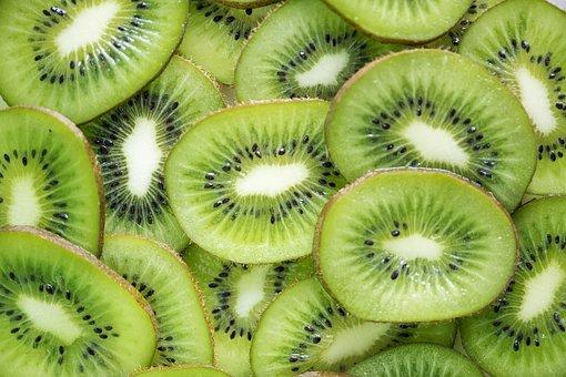 Fruit, Kiwi, Food, Juicy, Tropical, Background, Closeup