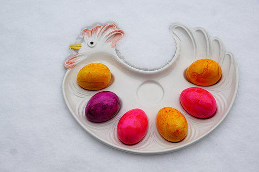 Food, Background, Color, Bright, Egg, Dessert, Easter