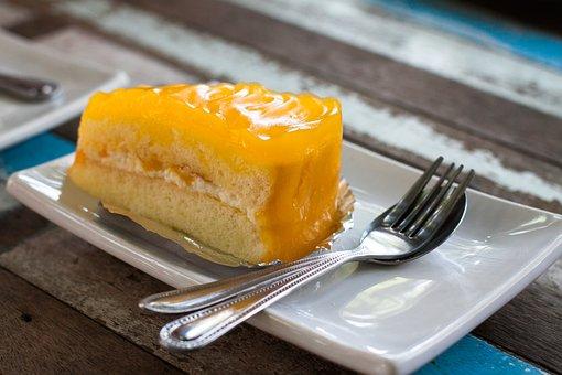 Food, Sweet, Cake, Mango, Sugar, Delicious