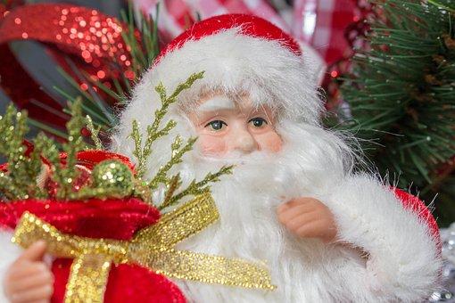 Santa, Christmas, Winter, Celebration, Gift, Merry