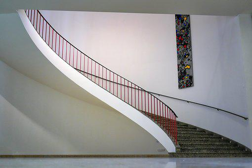 Architecture, Contemporary, Modern, Stairs, Emergence