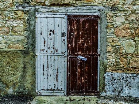 Door, Doorway, House, Entrance, Wood, Architecture