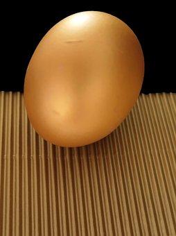 Egg, Easter Egg, Protein, Yolk, Golden Egg, Food