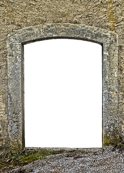 Door, Portal, Archway, Historically, Old, Goal, Gate