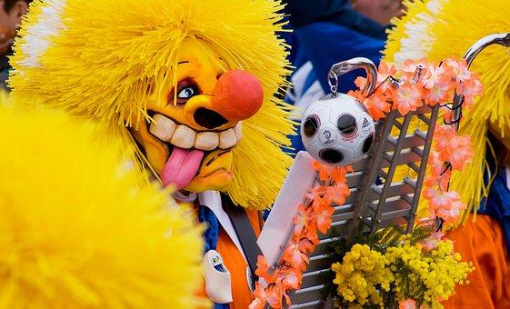 Basler Fasnacht, Carnival, Larva, Mask, Drums