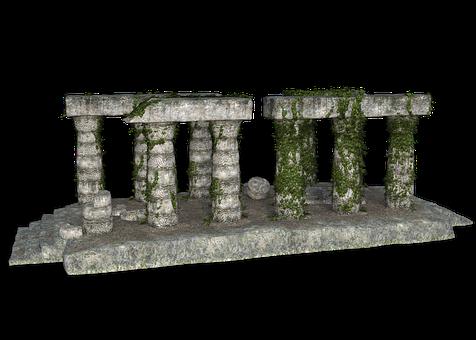 Ruin, Temple, Architecture, Columnar, Mysticism