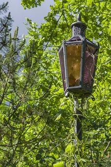 Nature, Wood, Latern, Lamp, Decoration, Vintage