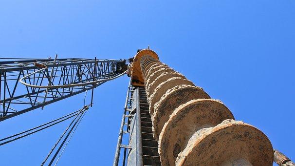 Sky, Tower, Piling Machine