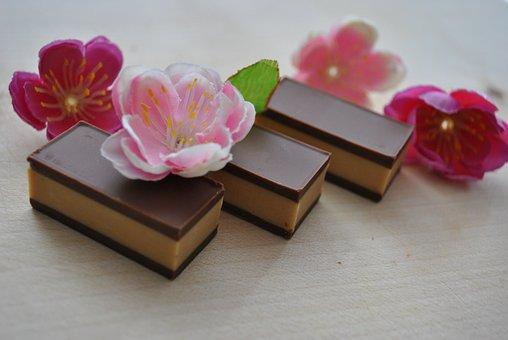 Flower, Luxury, Desktop, Chocolate, Brown, Praline