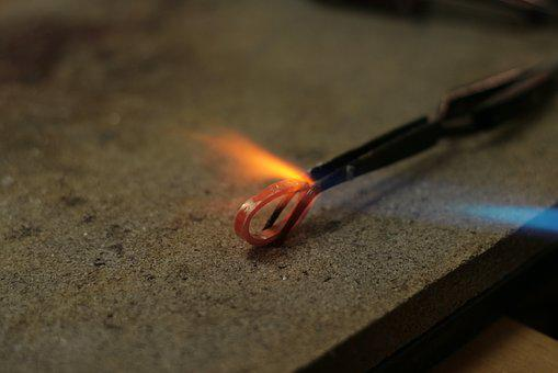 Heat, Hot, Flame, Burn, Ring, Forging, Wedding Ring