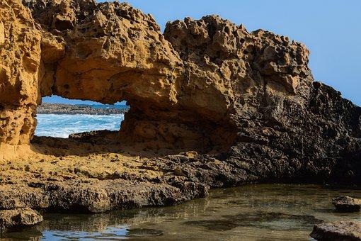 Seashore, Nature, Travel, Rock, Landscape, Geology