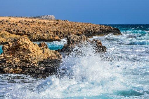 Sea, Waves, Nature, Seashore, Rocky Coast, Landscape
