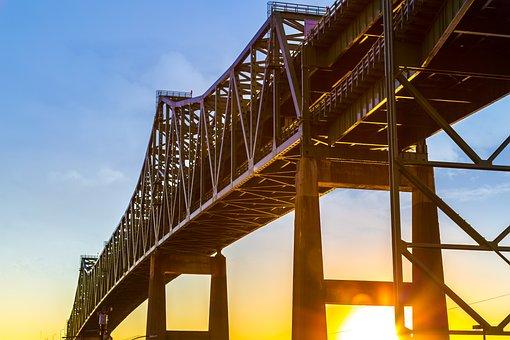 Bridge, Sky, Architecture, Steel, Expression