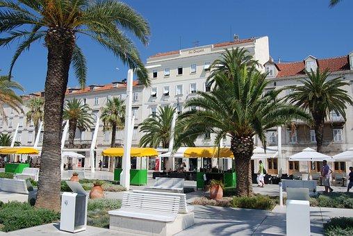 Hotel, Architecture, Travel, Resort, Split, Dalmacija
