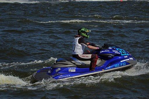 Jet Boat, Water Sports, Racing, Waters, Sport, Water