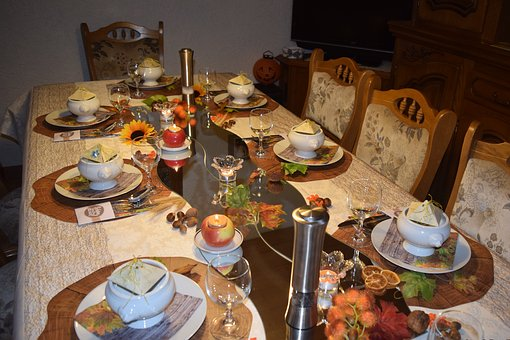 Table, Tableware, Cutlery, Table Cover