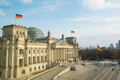 Architecture, Travel, City, Sky, Building, Reichstag