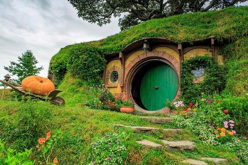 Nature, Summer, Grass, Travel, Landscape, Hobbit