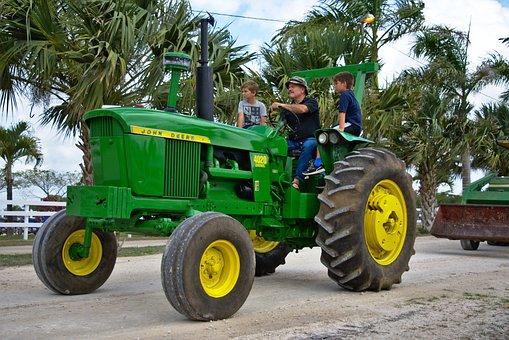 Tractor, Vehicle, Transportation System, Wheel, Machine
