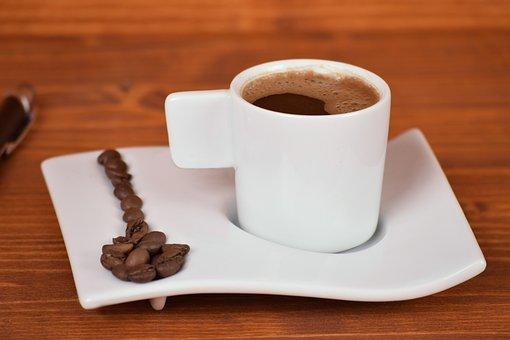 Coffee, Espresso, Cup, Drink, Caffeine, Wood, Desktop