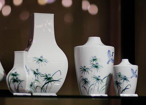 Ceramic, Pottery, Container, Ornament, Vase