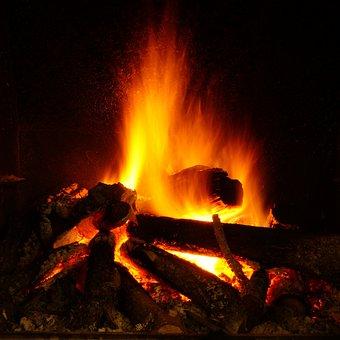 Flame, Heat, Bonfire, More Hot, Lena, Coal, Burned