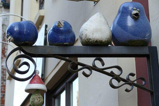 Ceramics, Clay, Manual Labor, Pottery, Bird, Comic