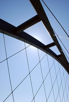 Fehmarnsund Bridge, Steel, Contemporary, Expression