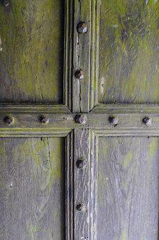 Wood, Door, Wooden, Lock, Entrance, Doorway, Old, Gate