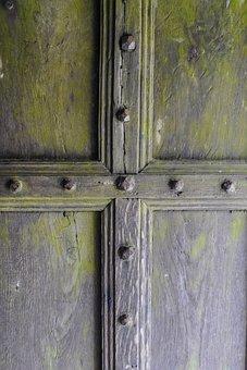 Wood, Door, Wooden, Lock, Entrance, Doorway, Old, Gate