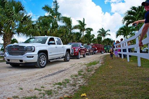 Truck, Gmc, Parade, Pickup, Transport, Vehicle