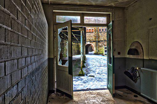 Architecture, Door, Home, Lost Places, Leave, Old, Ruin